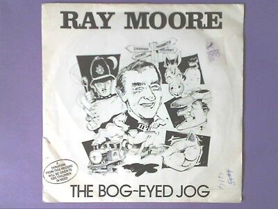 """Ray Moore - The Bog-Eyed Jog (7"""" single) picture sleeve PLAY 224"""