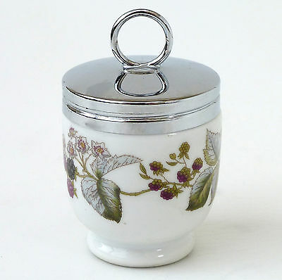 Royal Worcester Porcelain Berry Pot Made In England