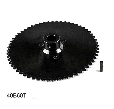 """40B60T 1""""  Bore Go Kart Live Axle Sprocket 60 Teeth for 40 41 420 Roller Chain"""