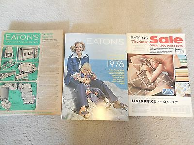 1976 Eaton's Spring & Summer w/'76 Winter Catalogue's