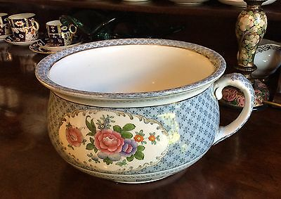 Booths Silicon china Empire pattern chamber pot planter