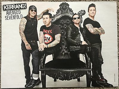 AVENGED SEVENFOLD (A) - full page magazine poster