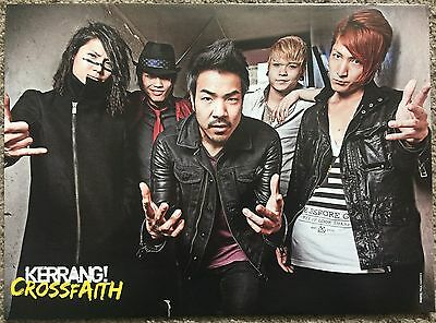 CROSSFAITH - full page magazine poster