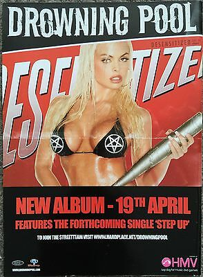 DROWNING POOL - DESENSITIZED 2004 full page UK press ad