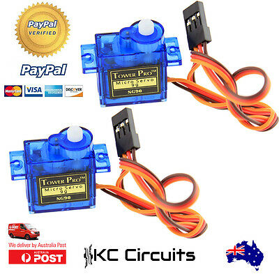 2pcs SG90 Micro Servo motor for RC Robot Airplane and Arduino