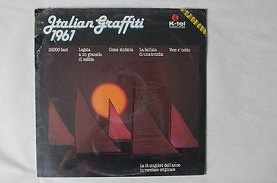 Italian Grafiti, LP, Vinyl, K-tel, Mint, sealed