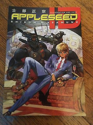 Appleseed ID Manga. By Shirow Masamune. Great Condition. Fast Shipping.