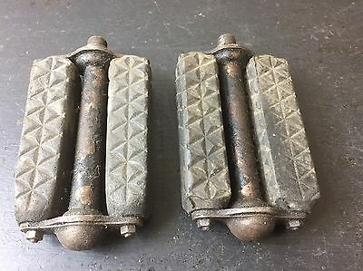 Vintage Bicycle, British Made Pedals, Roadster Pedals, Sunbeam, Rudge, Humber