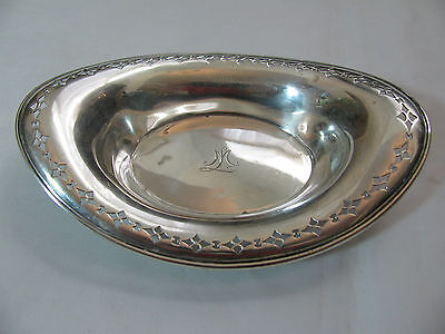 Tiffany & Co. Sterling Silver Pierced Bowl / Dish 17754 Amakers 5804
