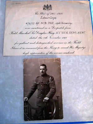 Field Marshal Haig - Two signed letters & document - 1917