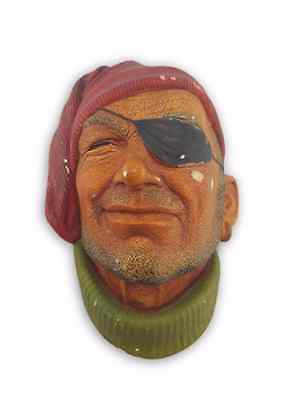 Bossons Wall Plaque Pirate