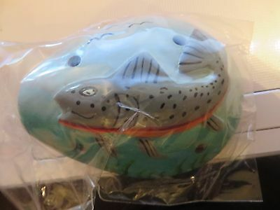 jungle Animal ocarina musical percussion wind instrument brand new fish