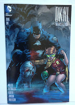 Dark Knight Iii 3 Master Race # 1  1 In 500 Jim Lee Cover Variant Dc 1:500 Rare