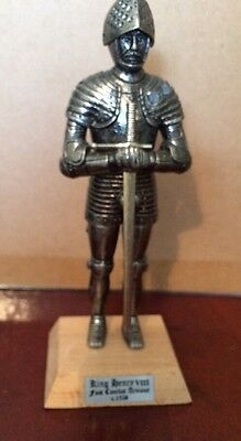King Henry Viii Figure In Combat Armour