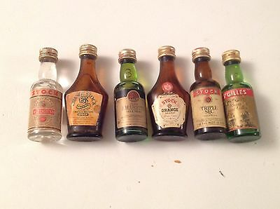 Mignon Miniature Liquore Stock Lotto Da 6 Liqueur Bottle