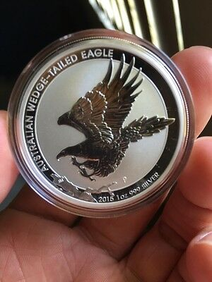 Australian Wedge Tail Eagle Perth Mint Silver Coin 1 Oz Ounce 999 Silver RARE