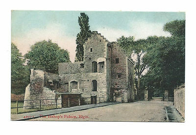 1907 Postcard - The Bishop's Palace, Elgin