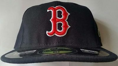 Boston Red Sox New Era Fitted Cap With 100 Years Of Fenway Patch Size 6 3/4