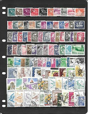 Romania Collection Of Used Stamps Bb001