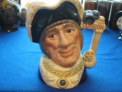 Royal Doulton Character Jug Entitled Dick Whittington, Lord Mayor,d6846  (Large)