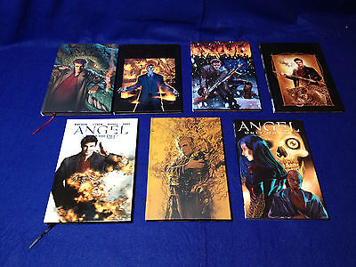 Angel - After the Fall Comics Vols 1-5 (HC), Spike (HC) and Only Human