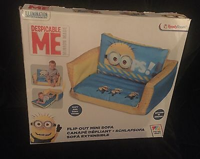 Despicable Me Minion Inflatable Flip Out Sofa Bed Best Gifts For Kids