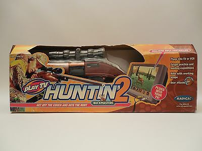 Buckmasters Huntin' 2 by Radica - Plugs into your TV #73030  NEW IN BOX