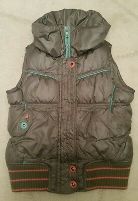 Girls quilted gillet / bodywarmer by Next aged 5-6yrs