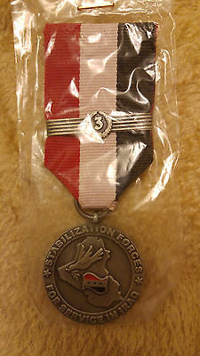 Iraq Military Multinational Division Medal Stabilization Forces For Service