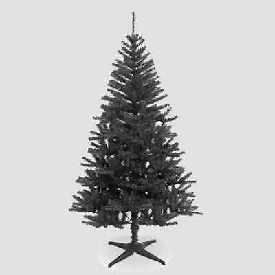 5FT kingfisher Traditional Black Christmas Tree Imperial 350Tips Artificial Tree
