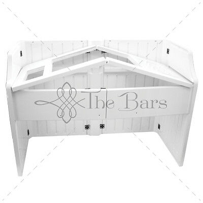 Tour bar Catering barman white color in Abs CB001 Station barman