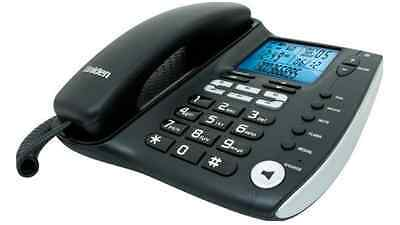 Uniden FP1200 Corded Phone, High Quality Home and Business, LCD Display