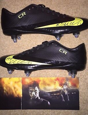 *promo Issued Nike Mercurial Superfly 1 Boots Signed By Cristiano Ronaldo*
