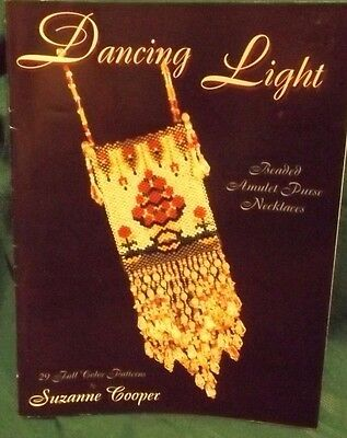 29 Beaded Amulet Purse Necklaces Patterns by Suzanne Cooper for Dancing Light