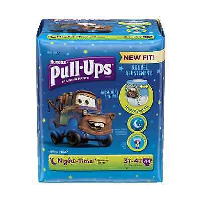Pull ups Night-Time Training Pants 3t-4t, Boy, Big Pack, 44-Count (Packaging May