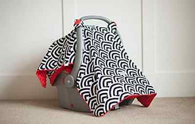 Carseat Canopy Car Seat-Canopy Soloman, Black/Red
