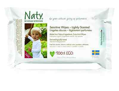Naty by Nature Babycare Eco-Sensitive Lightly Scented Wipes, 672-Count