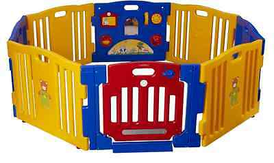 Baby Diego Playpen and Activity Center, Yellow/Red/Blue