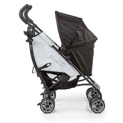 Summer Infant 3D Flip Convenience Stroller, Black/Grey