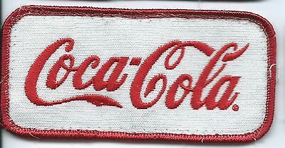 coca cola employee/driver patch 2 X 4