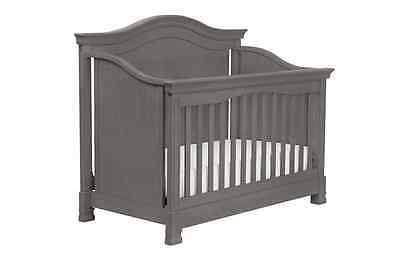 Million Dollar Baby Classic Louis 4-in-1 Convertible Crib with Toddler Rail, Man