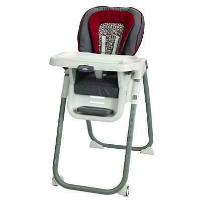Graco Table Fit Finley High Chair, Red/Brown