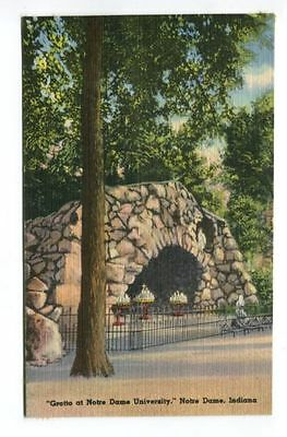 GROTTO AT NOTRE DAME UNIVERSITY, NOTRE DAME, IN - used