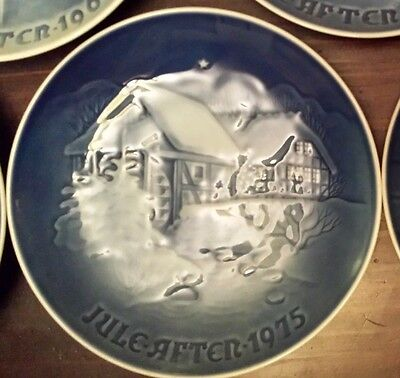 Bing and Grondahl Christmas Plate Xmas 1975