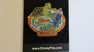 Disneyland Resort Finding Nemo AAA Vacations - Turtle Talk With Crush #2 Pin