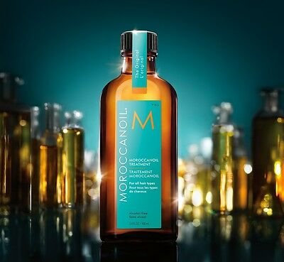 MOROCCAN OIL FOR ALL HAIR TYPES 200ml  With Pump