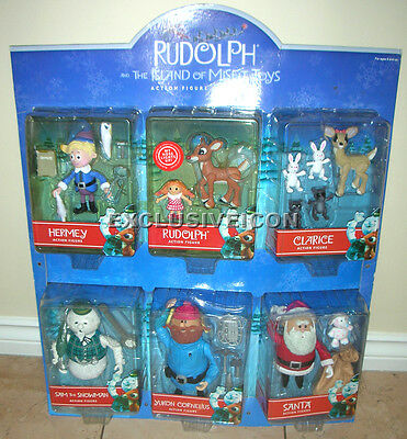 Rudolph and the Island of Misfit Toys Action Figures Collection Playing Mantis