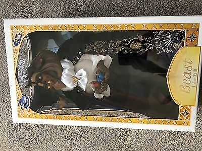 """Brand New Disney Store Limited Edition Beauty And The Beast 17"""" Beast Doll"""