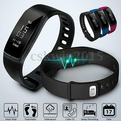 LY 107S Blood Pressure/Oxygen Heart Rate Fitness Smart Watch Wrist Band Bracelet