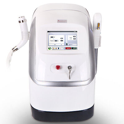 Two Probe IPL RF Skin Rejuvenation Permanent Hair Removal ELight Freckle Removal